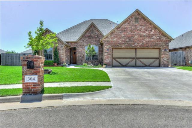 304 SW 172nd Circle, Oklahoma City, OK 73170 (MLS #821887) :: Wyatt Poindexter Group