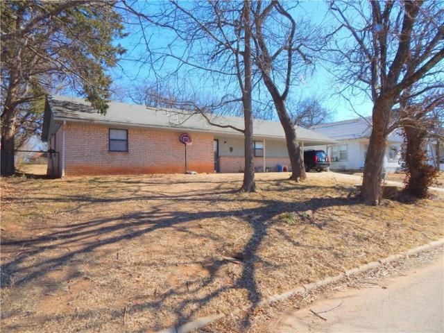 311 N Cleveland, Shawnee, OK 74801 (MLS #822027) :: Wyatt Poindexter Group