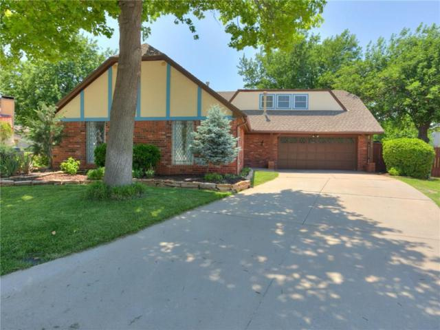 6516 Rock Creek Circle, Oklahoma City, OK 73132 (MLS #822424) :: Wyatt Poindexter Group