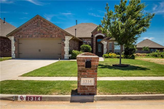 1314 Reid Pryor Rd., Norman, OK 73072 (MLS #822597) :: Wyatt Poindexter Group