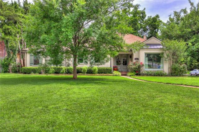 1122 Larchmont Lane, Nichols Hills, OK 73116 (MLS #822615) :: Wyatt Poindexter Group