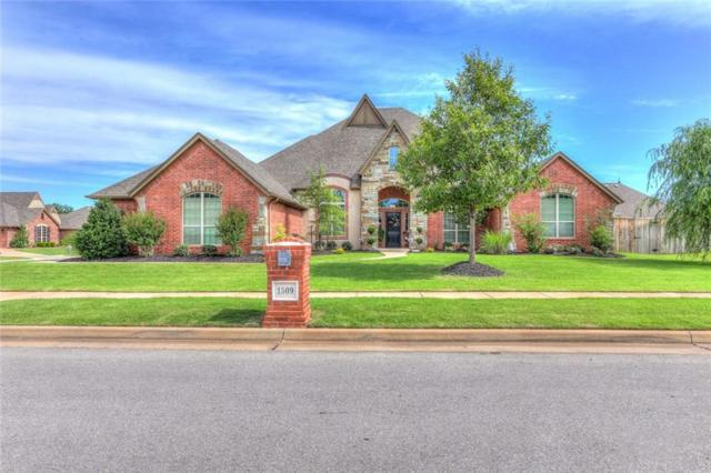 1509 NW 186th Street, Edmond, OK 73012 (MLS #822634) :: Meraki Real Estate