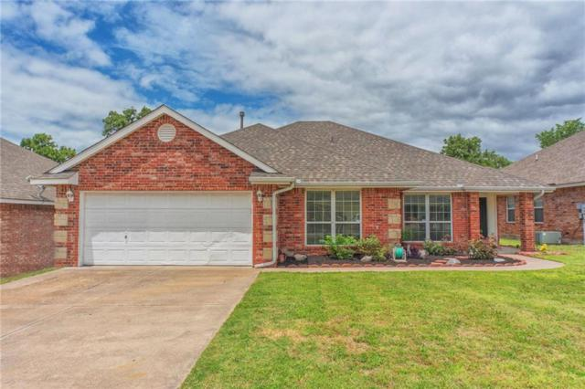 14437 Timberdale, Choctaw, OK 73020 (MLS #822712) :: Wyatt Poindexter Group