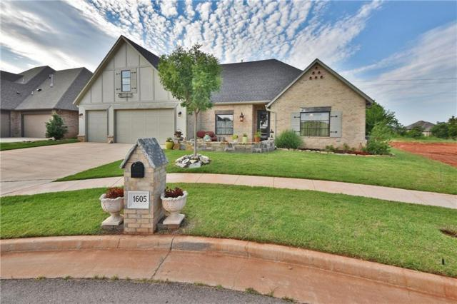 1605 NW 199th Street, Edmond, OK 73012 (MLS #822749) :: Erhardt Group at Keller Williams Mulinix OKC