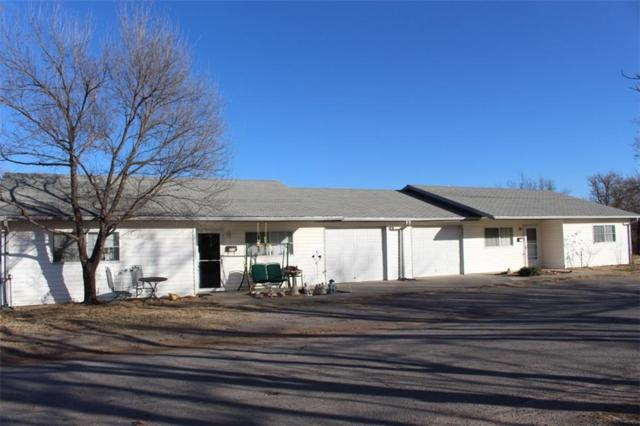 202 N Louisiana, Mangum, OK 73554 (MLS #823115) :: Erhardt Group at Keller Williams Mulinix OKC