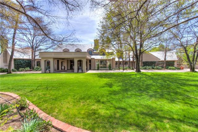 1700 Drury Lane, Nichols Hills, OK 73116 (MLS #823158) :: Wyatt Poindexter Group