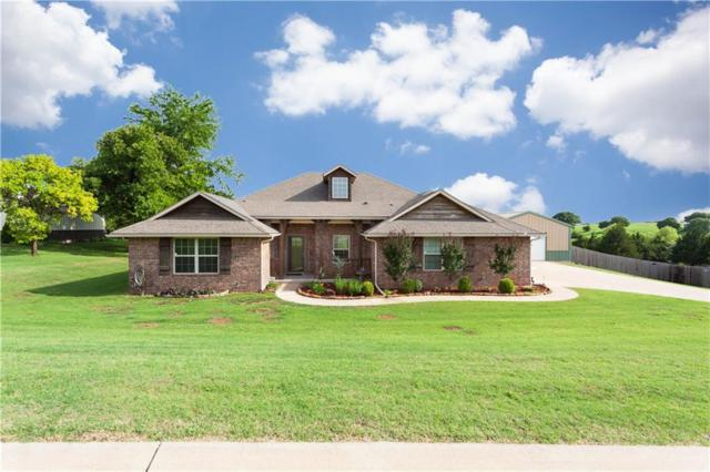 4105 Timberline Trail, Edmond, OK 73034 (MLS #823219) :: Wyatt Poindexter Group