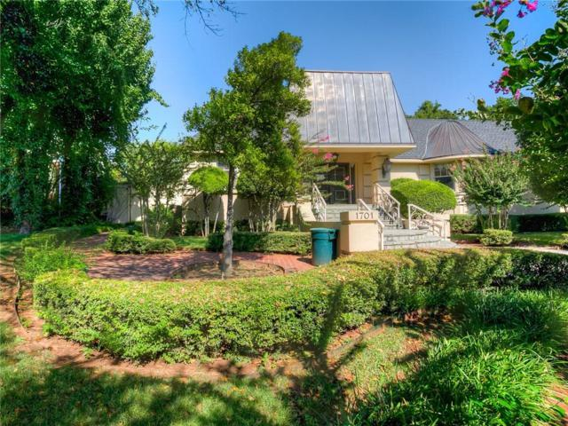 1701 Huntington Avenue, Nichols Hills, OK 73116 (MLS #823606) :: Wyatt Poindexter Group