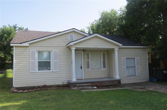 221 W 35th, Shawnee, OK 74804 (MLS #823682) :: Wyatt Poindexter Group