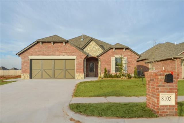 8105 Lillas Way, Yukon, OK 73099 (MLS #823731) :: Wyatt Poindexter Group