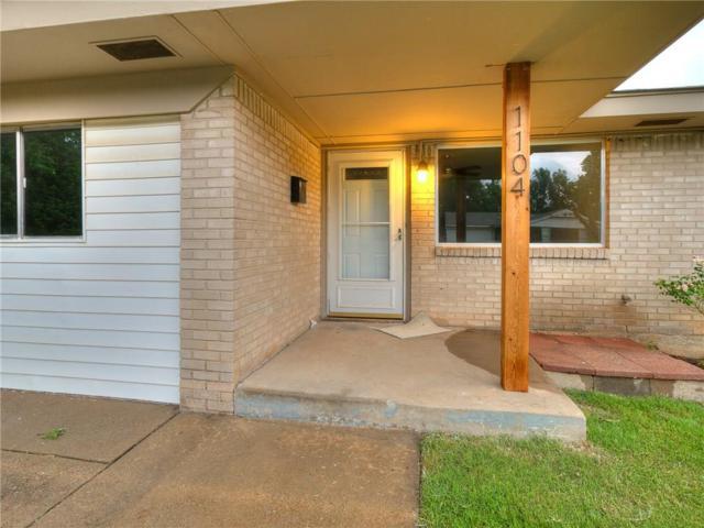 1104 Harrington Drive, Moore, OK 73160 (MLS #823732) :: Wyatt Poindexter Group