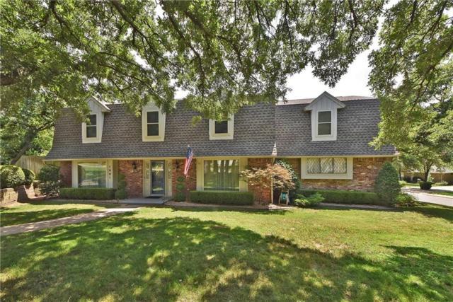 1601 N Mistletoe Lane, Edmond, OK 73034 (MLS #823734) :: Wyatt Poindexter Group