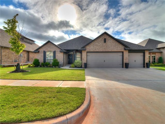 1100 Lindsey Lane, Moore, OK 73160 (MLS #823786) :: Wyatt Poindexter Group