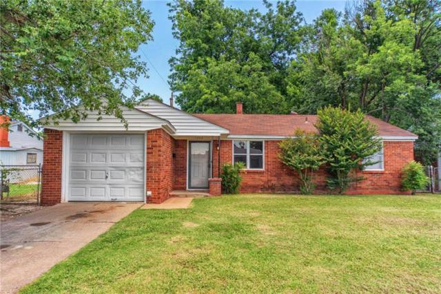 1202 Stansell Drive, Midwest City, OK 73110 (MLS #823857) :: Wyatt Poindexter Group