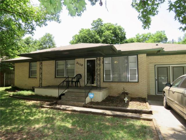 2110 N Union Avenue, Shawnee, OK 74804 (MLS #823879) :: Wyatt Poindexter Group