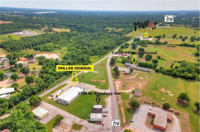 1106 W Broadway Avenue, McLoud, OK 74851 (MLS #823898) :: Meraki Real Estate