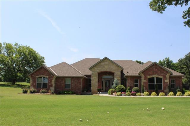 1802 Markham Drive, Newcastle, OK 73065 (MLS #823916) :: Wyatt Poindexter Group