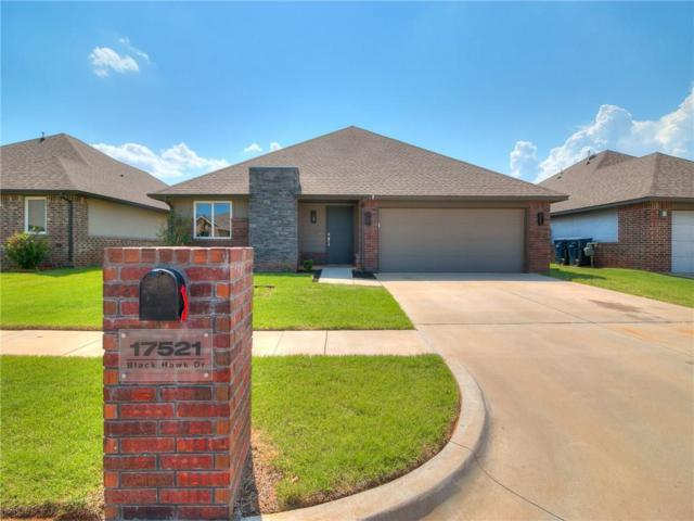 17521 Black Hawk Drive, Edmond, OK 73012 (MLS #823989) :: Homestead & Co