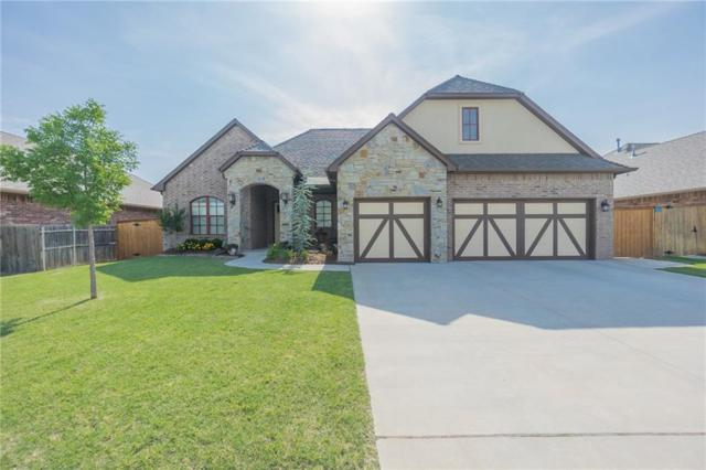 3808 S Sendera Lakes Drive, Moore, OK 73160 (MLS #824028) :: Wyatt Poindexter Group