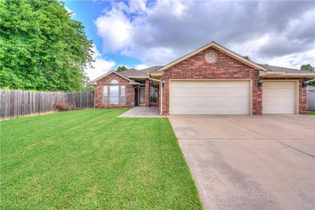 309 33rd Street, Moore, OK 73160 (MLS #824090) :: Erhardt Group at Keller Williams Mulinix OKC