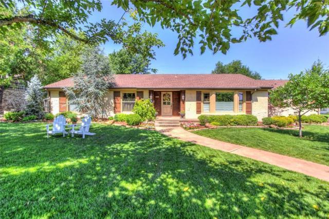 6414 N Lenox Avenue, Nichols Hills, OK 73116 (MLS #824092) :: Wyatt Poindexter Group