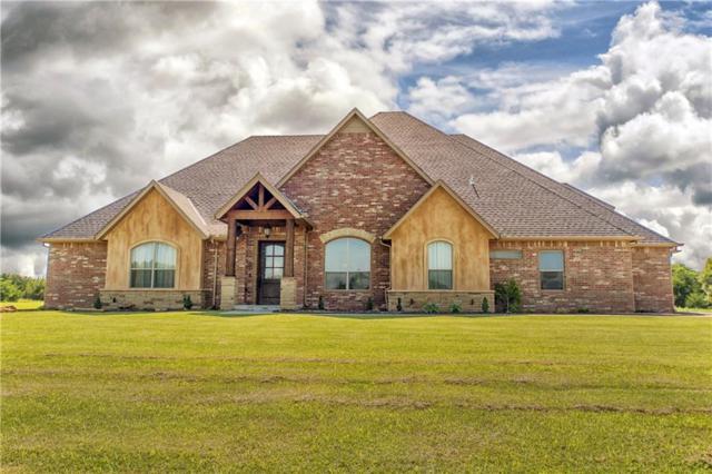 761 Cabin Road, Harrah, OK 73045 (MLS #824254) :: KING Real Estate Group