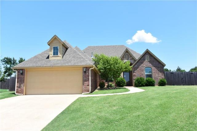 424 Kristy Drive, Edmond, OK 73003 (MLS #824281) :: Wyatt Poindexter Group