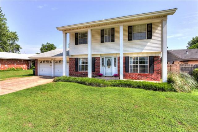 4001 Chetwood Drive, Del City, OK 73115 (MLS #824307) :: Wyatt Poindexter Group