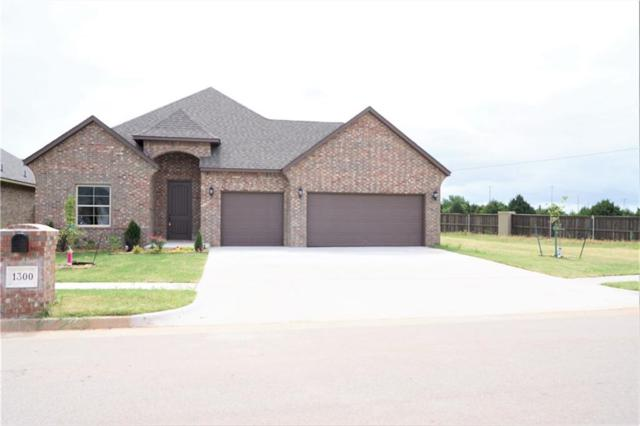 1300 Atalon Drive, Moore, OK 73160 (MLS #824351) :: Erhardt Group at Keller Williams Mulinix OKC