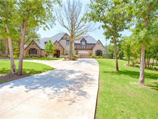 6732 Abbey Place, Edmond, OK 73034 (MLS #824378) :: Wyatt Poindexter Group