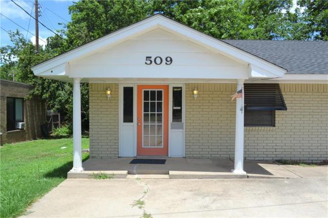 509 Grand Avenue, Ardmore, OK 73401 (MLS #824408) :: Erhardt Group at Keller Williams Mulinix OKC