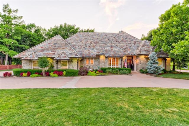 5721 Country Club Terrace, Edmond, OK 73025 (MLS #824410) :: Wyatt Poindexter Group