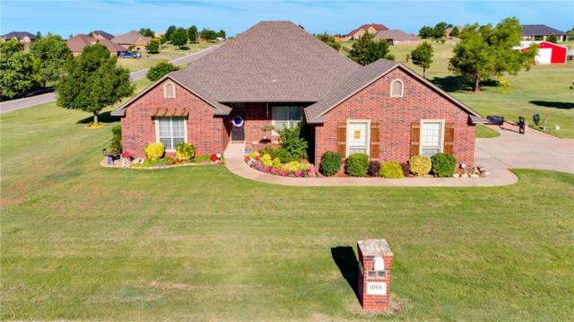 1066 Somersworth, Blanchard, OK 73010 (MLS #824498) :: Erhardt Group at Keller Williams Mulinix OKC