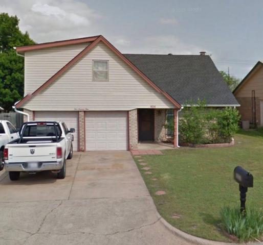 404 S Morgan Drive, Moore, OK 73160 (MLS #824556) :: Wyatt Poindexter Group