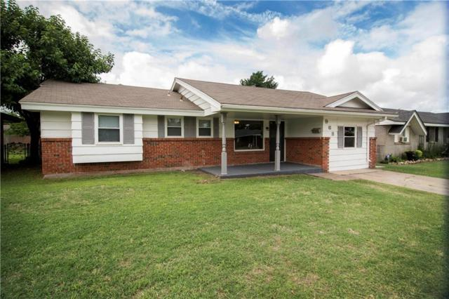 968 3rd, Moore, OK 73160 (MLS #824678) :: Erhardt Group at Keller Williams Mulinix OKC