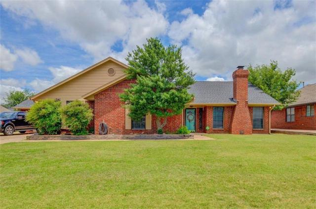 1341 108th Place, Oklahoma City, OK 73170 (MLS #824711) :: Erhardt Group at Keller Williams Mulinix OKC
