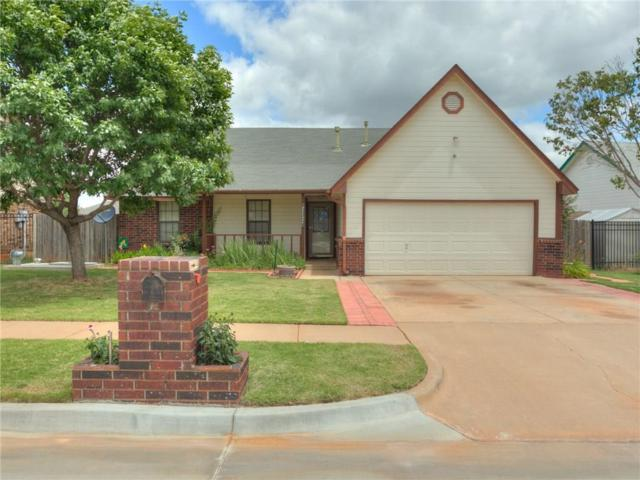 629 NE 18th Street, Moore, OK 73160 (MLS #824727) :: Erhardt Group at Keller Williams Mulinix OKC