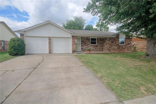 1417 NE 3rd, Moore, OK 73160 (MLS #824736) :: Erhardt Group at Keller Williams Mulinix OKC