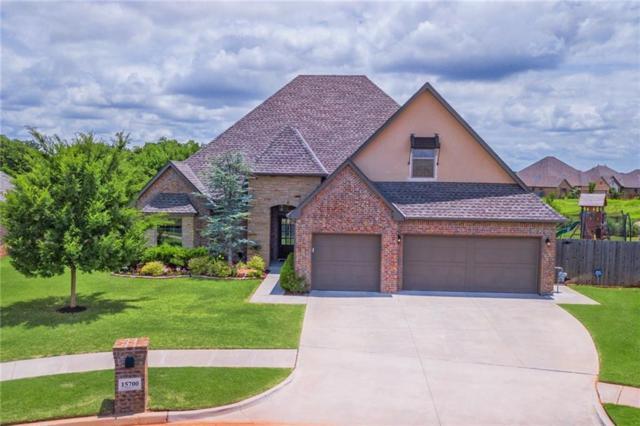 15700 Wild Creek Drive, Edmond, OK 73013 (MLS #824867) :: Wyatt Poindexter Group