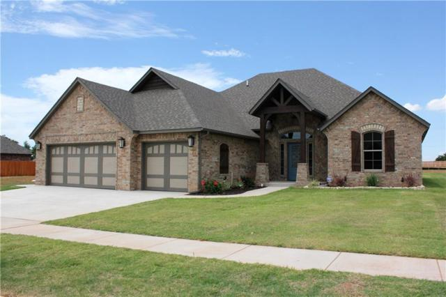 4521 Hidalgo Avenue, Mustang, OK 73064 (MLS #824874) :: Wyatt Poindexter Group