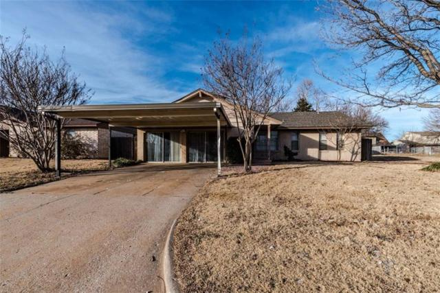 1017 SW 1st St, Moore, OK 73160 (MLS #824888) :: Erhardt Group at Keller Williams Mulinix OKC