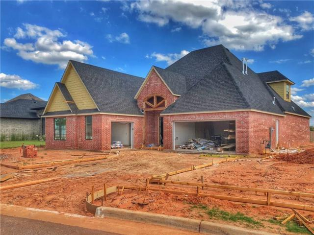 4320 NW 154th Place, Edmond, OK 73013 (MLS #824962) :: Wyatt Poindexter Group