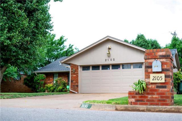 2105 Tracys Terrace, Edmond, OK 73013 (MLS #825094) :: Wyatt Poindexter Group
