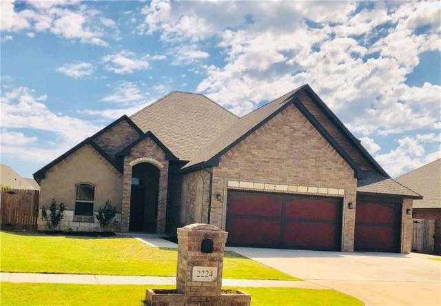 2224 Timber Ridge, Yukon, OK 73099 (MLS #825222) :: Wyatt Poindexter Group