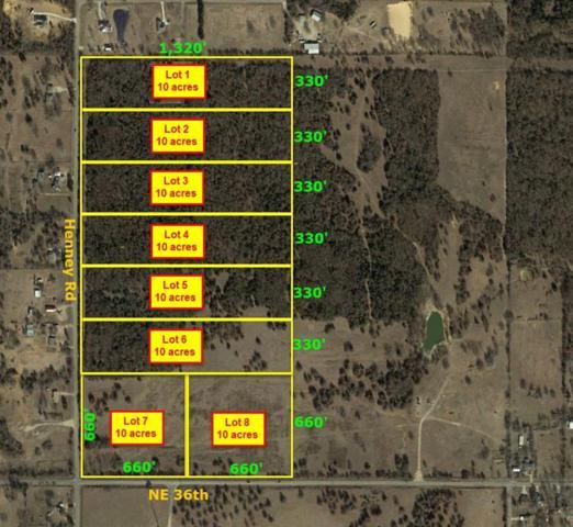 3700 N Henney Lots 5-8, Choctaw, OK 73020 (MLS #825274) :: Homestead & Co
