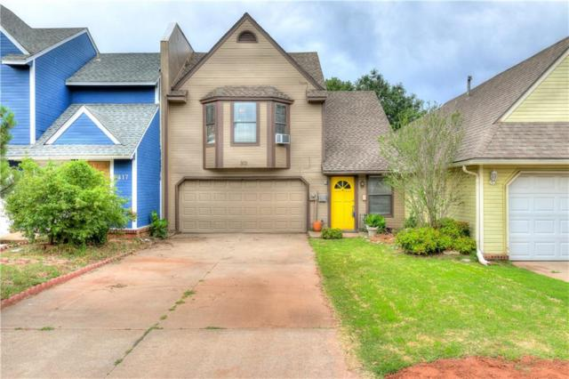 313 Abilene Avenue, Edmond, OK 73003 (MLS #825384) :: Erhardt Group at Keller Williams Mulinix OKC