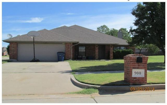 908 E Magnolia Terrace, Mustang, OK 73064 (MLS #825399) :: Wyatt Poindexter Group