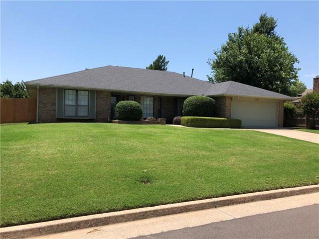 7318 Skylark Lane, Oklahoma City, OK 73162 (MLS #825709) :: Wyatt Poindexter Group