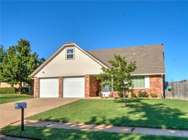 512 S Bouziden Drive, Moore, OK 73160 (MLS #826144) :: Barry Hurley Real Estate