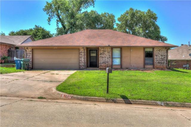 1036 Oak Hill Drive, Midwest City, OK 73110 (MLS #826330) :: Erhardt Group at Keller Williams Mulinix OKC